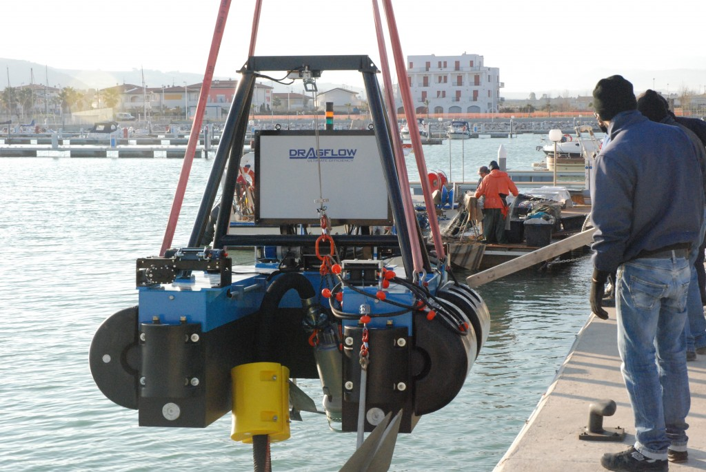 Dragflow DRP Remote Control Dredge Australia