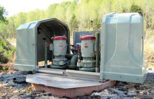 Australia Smith & Loveless Above Grade Pump Station