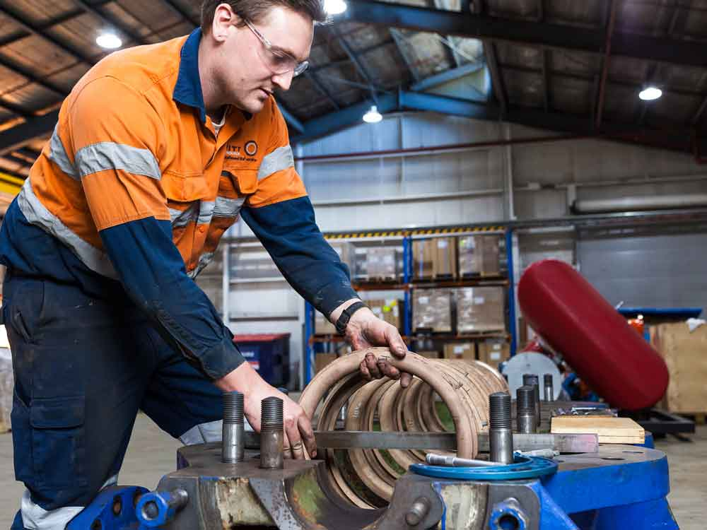 Rotating Equipment Servicing Australia