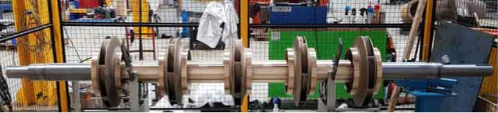 Australia Horizontal Split Type Pump Refurbishment