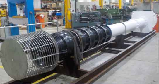 Australia Turbine Pump Refurbishment