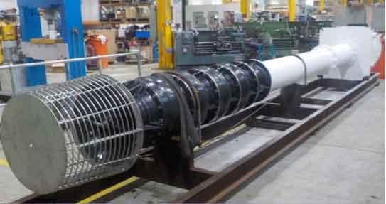 Australia Turbine Pump Refurbishment