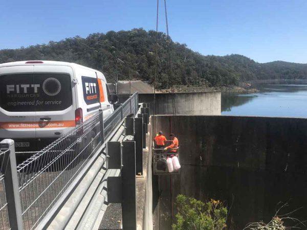 Sydney Dam Spillway Concrete Repairs