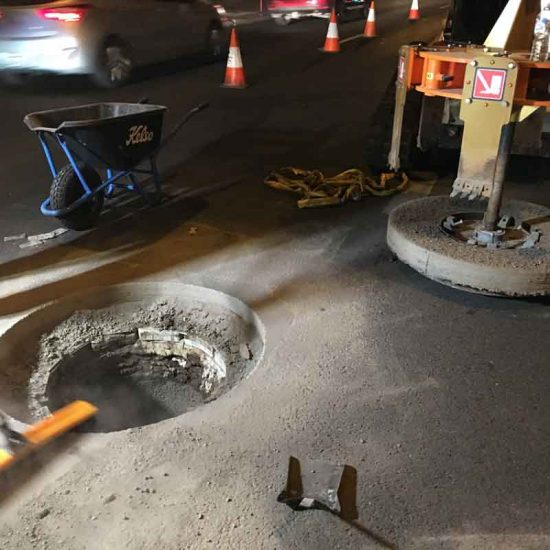 Adelaide Manhole Replacement