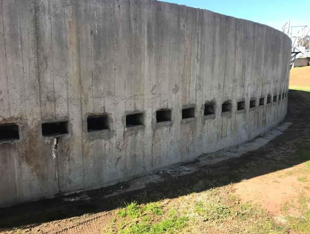 Concrete Crack Repair in Sewage Plants