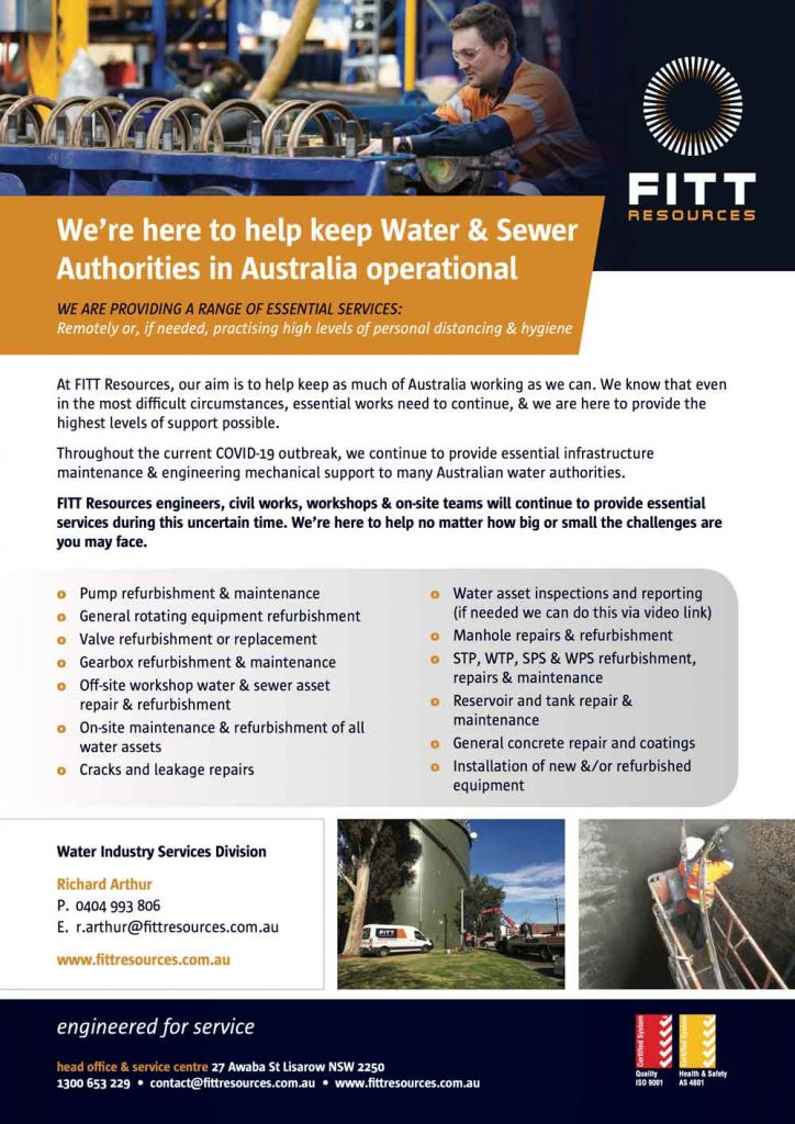 Water Asset Inspections and Reporting FITT Resources