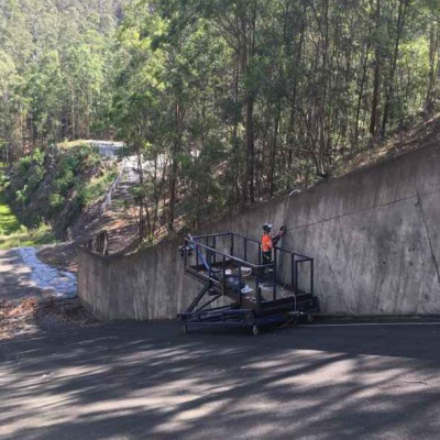 Sydney Dam and Concrete and Crack Repairs