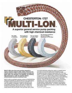 Data Sheet Chesterton 1727 Multi-Lon