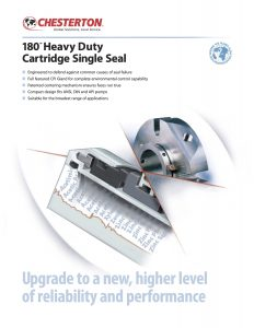 Data Sheet Chesterton 180 Heavy Duty Cartridge Single Seal