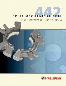 Brochure Chesterton 442 Split Mechanical Seal