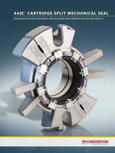 Brochure Chesterton 442C Cartridge Split Mechanical Seal