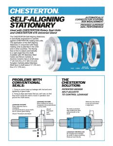 Data Sheet Chesterton Self Aligning Stationary Seal