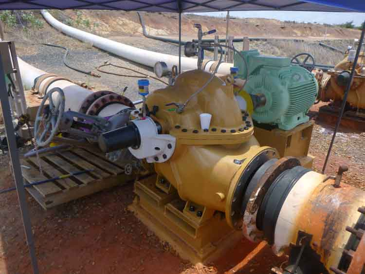 Gladstone Onsite Pump Overhaul and Installation