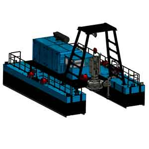 FITT Resources Dragflow DRH600 Cable Dredge