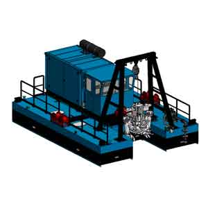 FITT Resources Dragflow DRH85-160 Cable Dredge