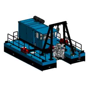 FITT Resources Dragflow DRH85 Cable Dredge