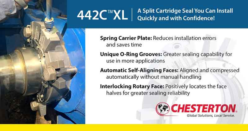 Sydney Chesterton 442C XL Mechanical Spilt Seals